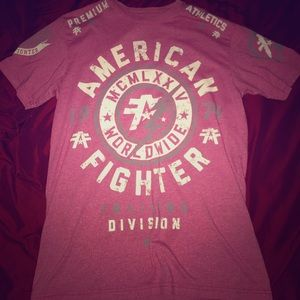 American fughter t shirt